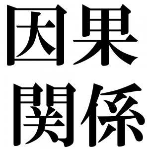 因果関係の四字熟語-壁紙/画像