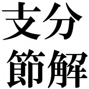 支分節解の四字熟語-壁紙/画像