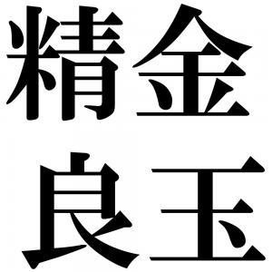 精金良玉の四字熟語-壁紙/画像