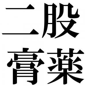 二股膏薬の四字熟語-壁紙/画像